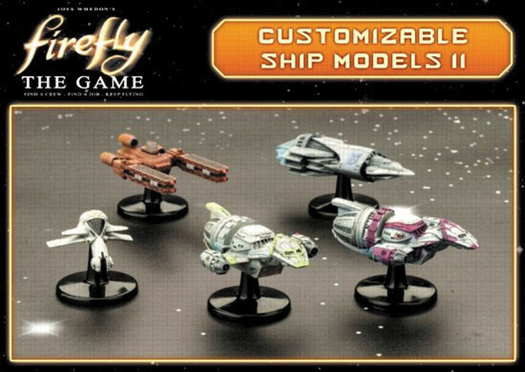 Firefly The Game Customizable Ship Models II