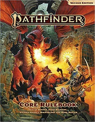 Pathfinder RPG Core Rulebook Second Edition (Hardcover)