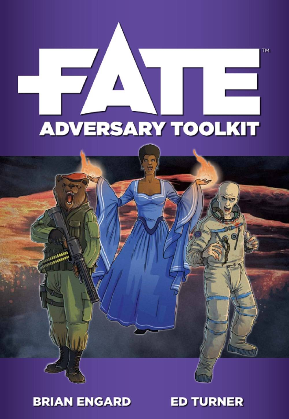 Fate Core RPG Adversary Toolkit