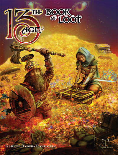 13th Age RPG Book of Loot