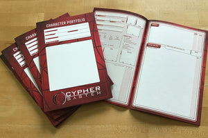 Cypher System RPG Character Portfolio