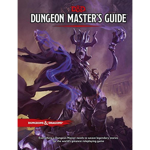 Dungeons and Dragons RPG D&D 5E Dungeon Master's Guide