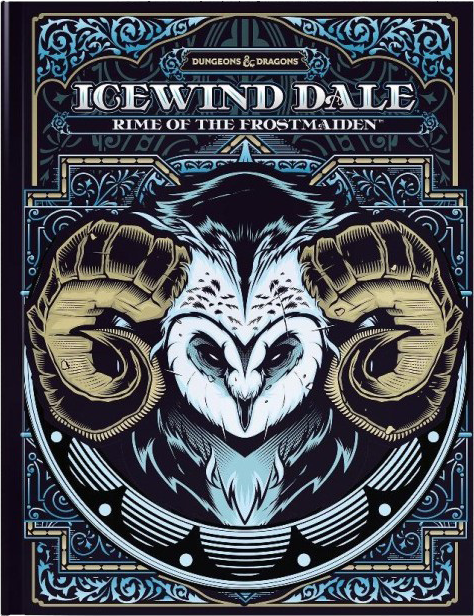 D&D 5E Icewind Dale: Rime of the Frostmaiden Limited Edition Cover
