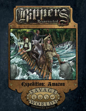 Load image into Gallery viewer, Savage Worlds RPG Rippers Resurrected Expedition: Amazon (Adventure Edition)