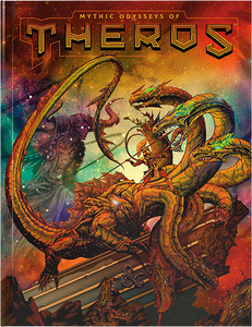 Dungeons and Dragons RPG D&D 5E Mythic Odysseys of Theros (Ltd. Ed.)