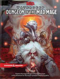 Dungeons and Dragons RPG D&D 5E Waterdeep Dungeon of the Mad Mage