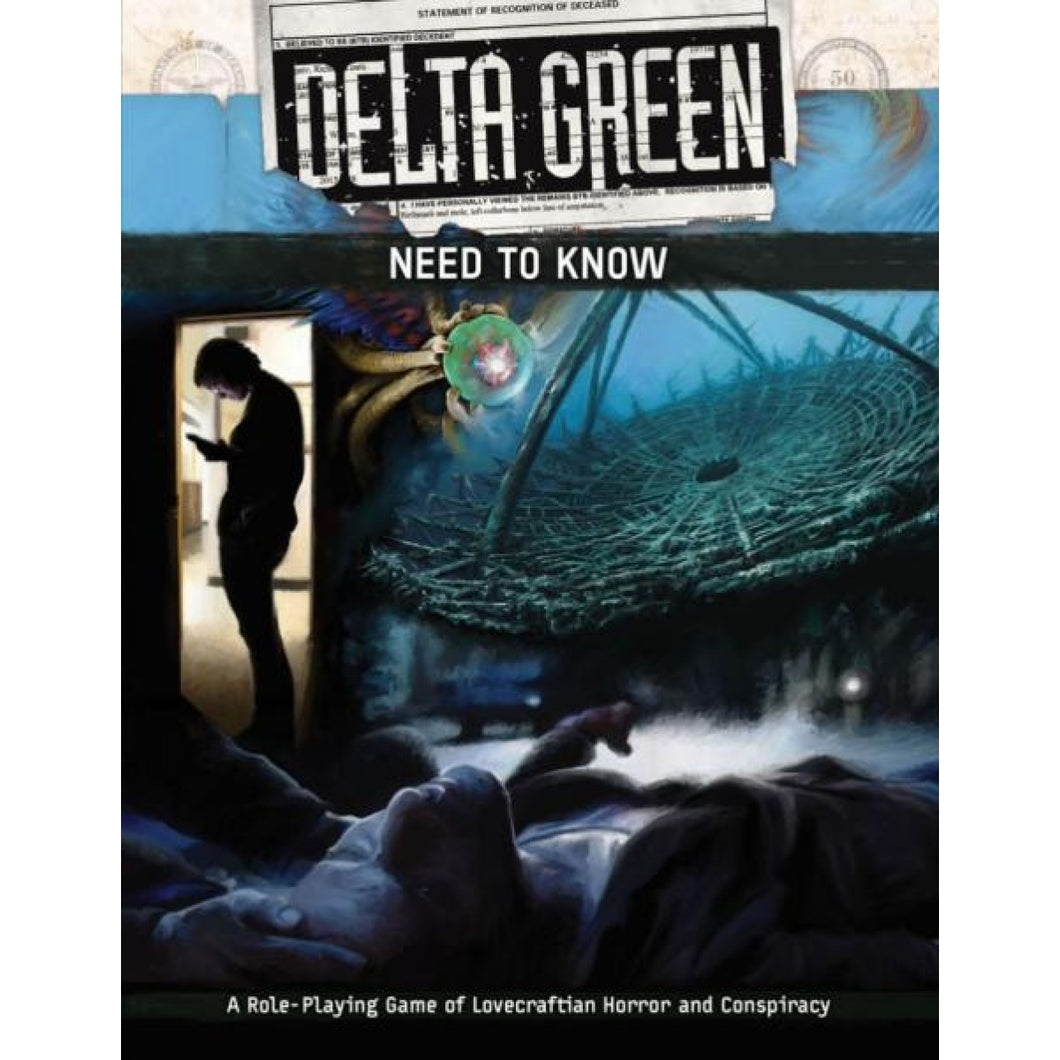 Delta Green RPG: Need to Know