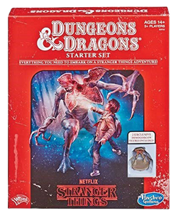 Dungeons and Dragons RPG D&D 5E Stranger Things Starter Set