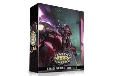 Savage Worlds RPG Essentials Boxed Set (Adventure Edition)