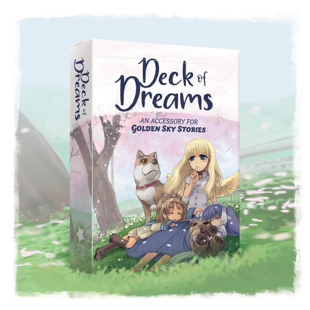 Golden Sky Stories RPG Deck of Dreams