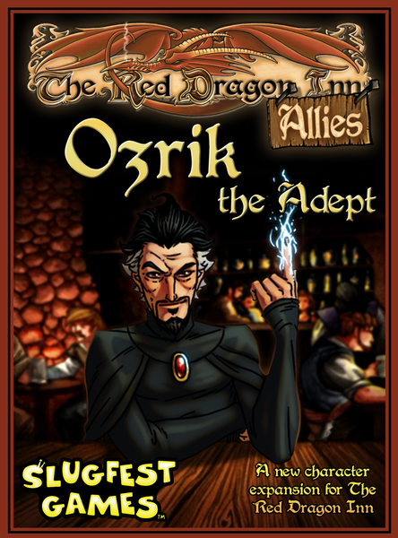 Red Dragon Inn: Allies - Ozrik the Adept Expansion