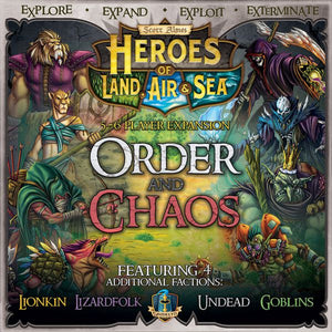Heroes of Land, Air & Sea: Order and Chaos Expansion
