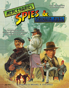 Mercenaries, Spies & Private Eyes RPG Combined Edition