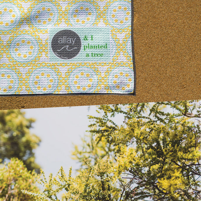 The Golden Wattle Towel: Inspired by Australia (Excluding Sand)
