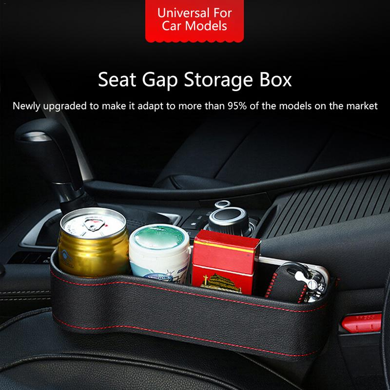 30% OFF-Multifunctional Car Seat Leather Storage Box