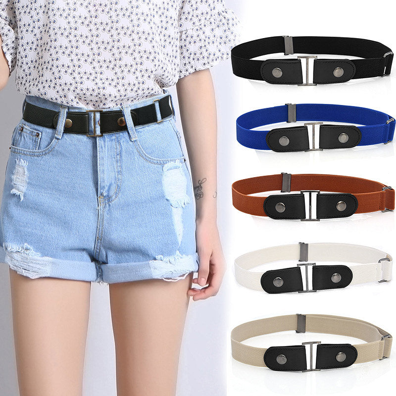 Easy Belt Without Buckle Elastic Belts