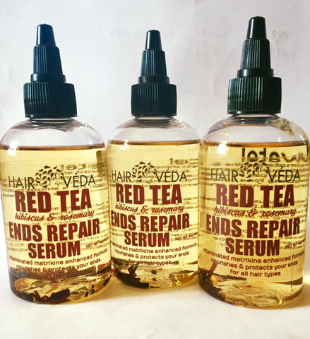HairVeda - RED TEA ENDS PROTECT SERUM