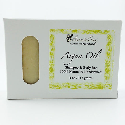 Henna Sooq - Argan Oil Shampoo & Body Bar