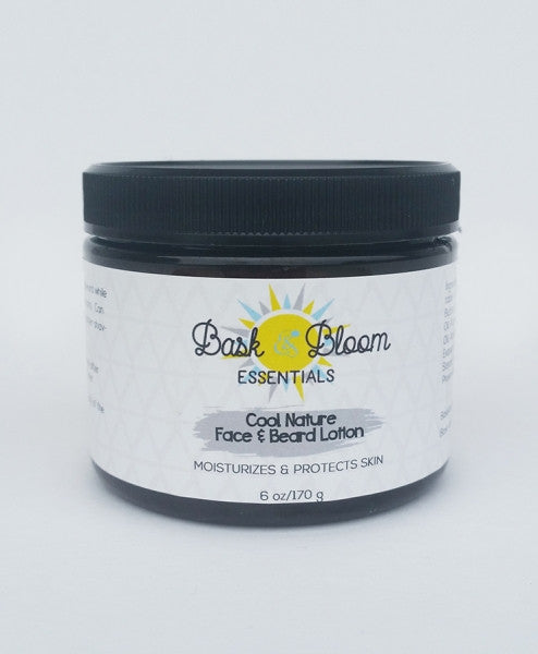 Bask & Bloom - Cool Nature Face & Beard Lotion