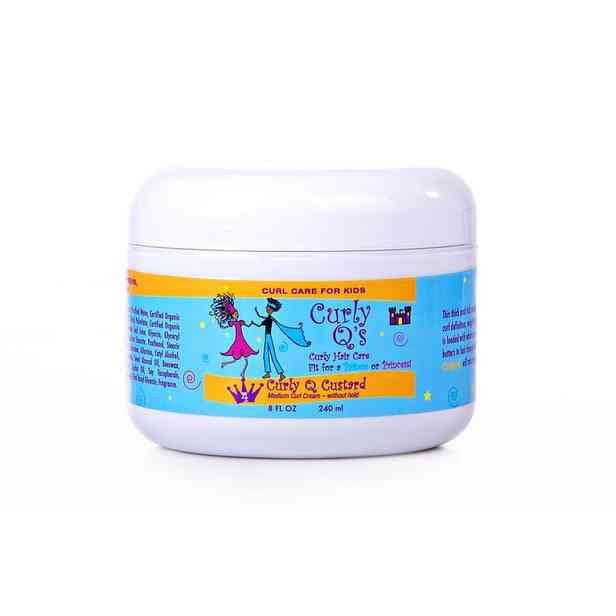 Curly Q - Curly Q Custard - Curl Cream for THICK, KINKY textured curls