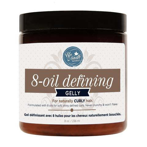 Up North Naturals - 8 OIL HAIR GELLY