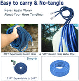 H2O WORKS Expandable Garden Hose 25FT Expandable to 50FT