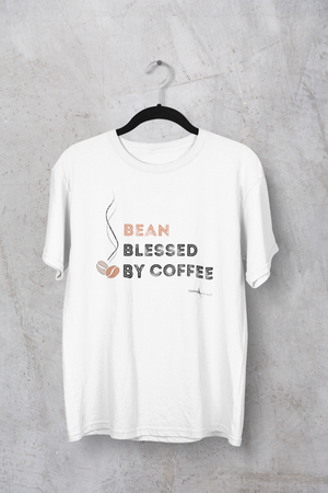 Open image in slideshow, T-SHIRTS - Bean Blessed By Coffee