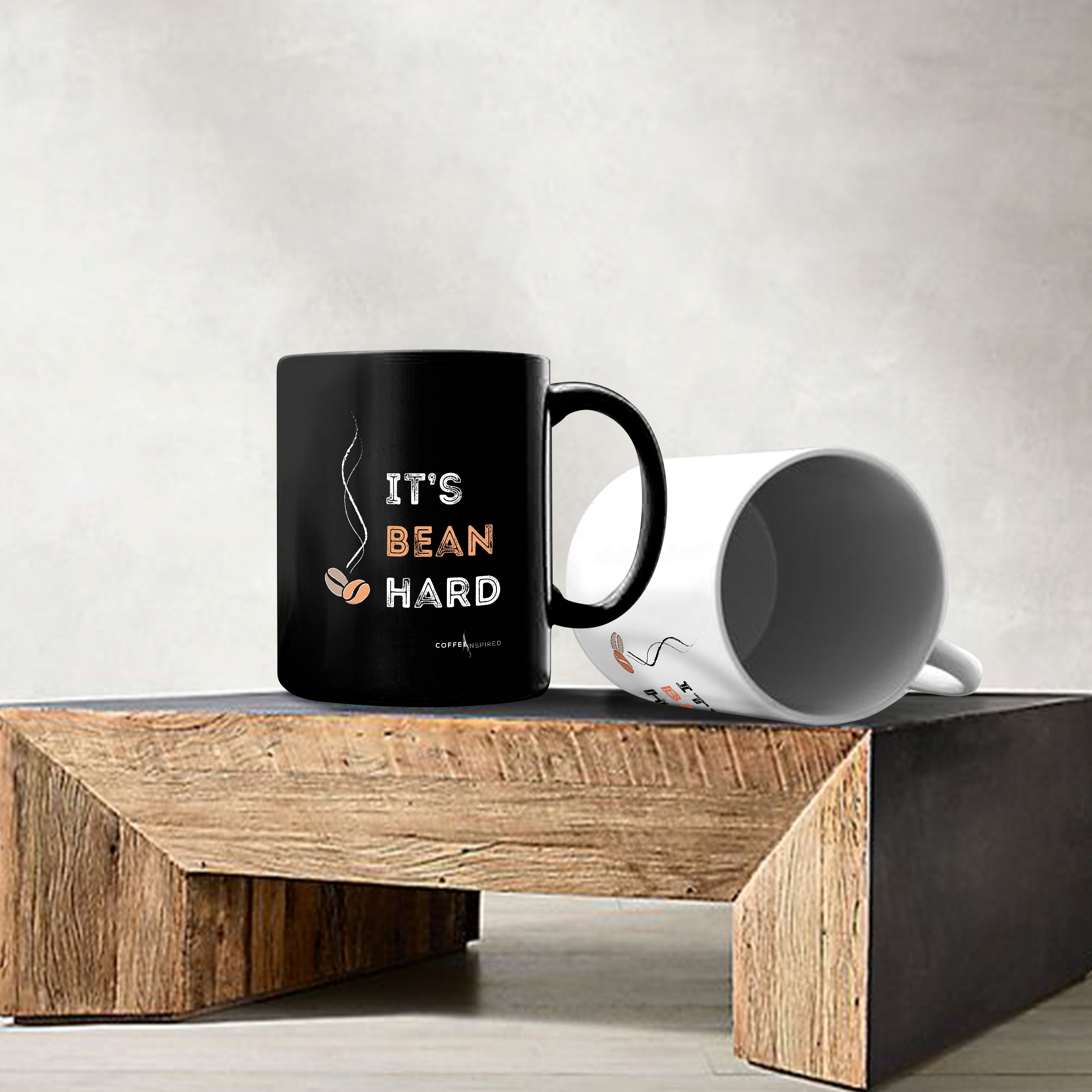 MUG - It's Bean Hard