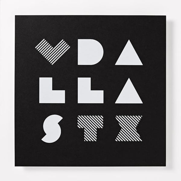 Love Dallas Print (12x12)