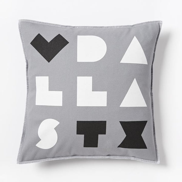 Love Dallas Pillow Cover