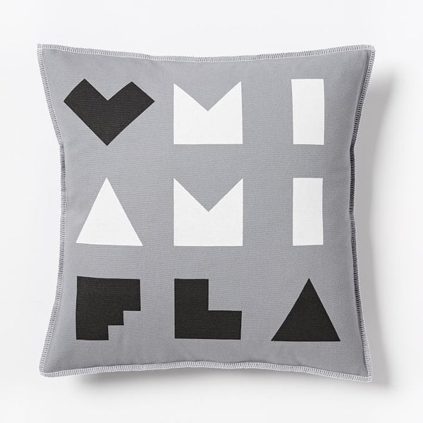 Love Miami Pillow Cover