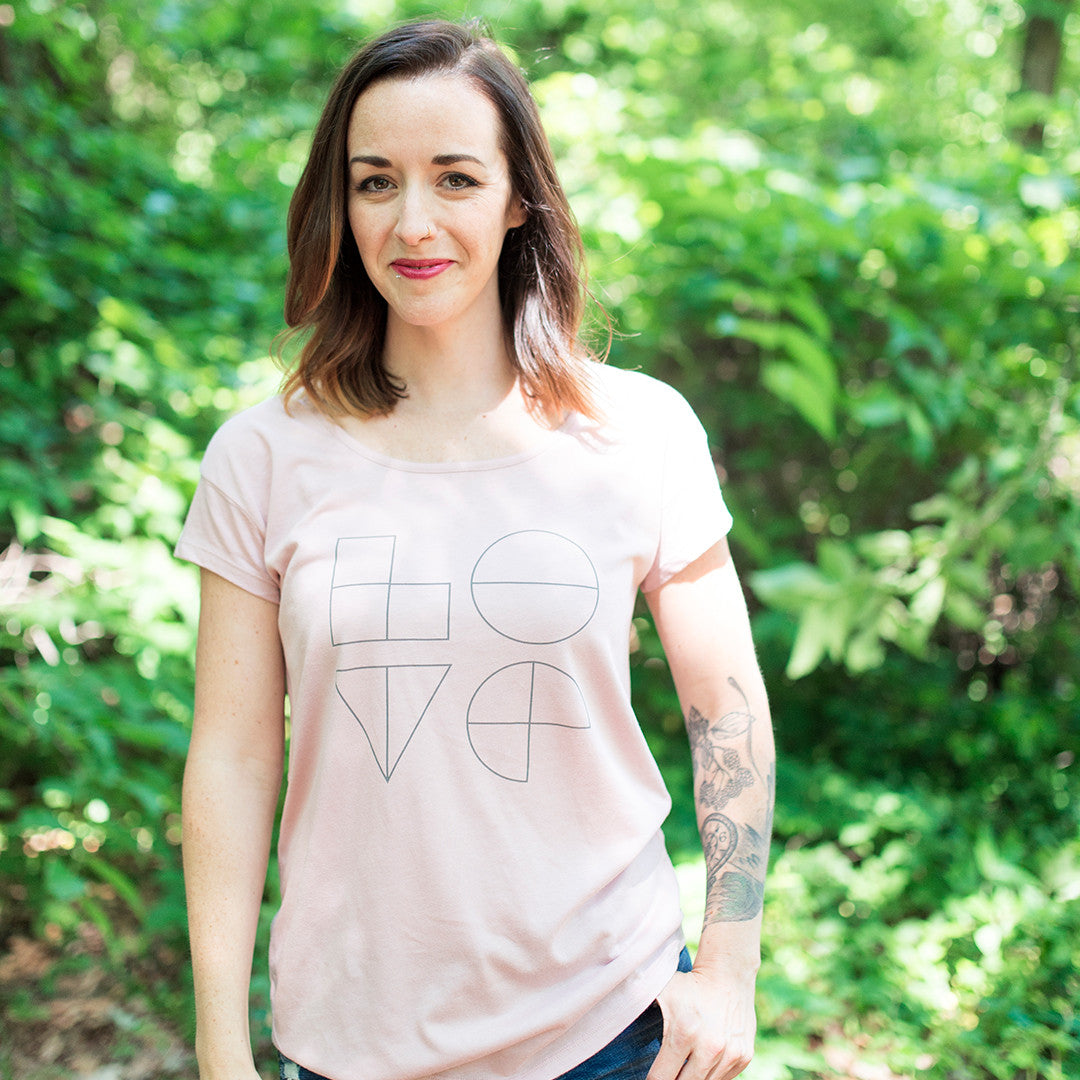 The Love Tee - Pink Blush (Women's)