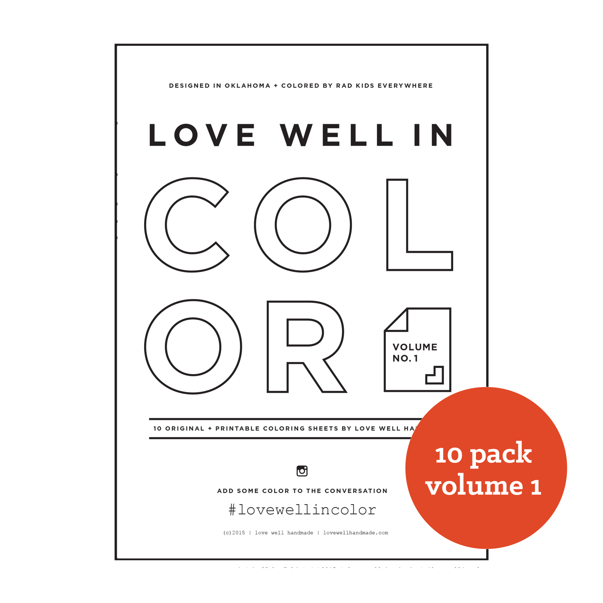 Love Well in Color Vol. 1 - Ten Pack [no. 1-10]