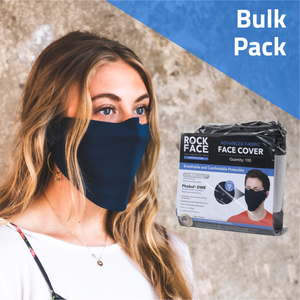 Advanced Face Cover Bulk Pack - 100 Count - RockFace USA