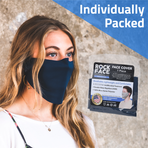 Advanced Face Cover Individually Packed - 100 Count - RockFace USA
