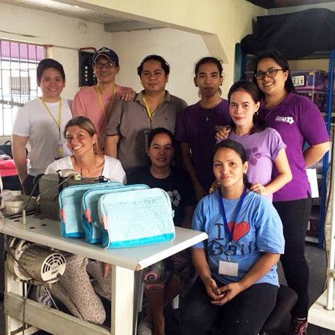 Training of mothers in Tondo, in partnership with NotADaydream Manila