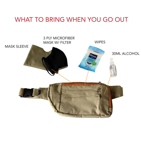 What to bring when you go out