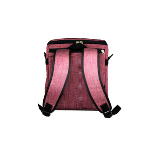 ReCreate Convertible Bag (Kimono Collection) - Pink
