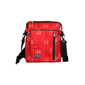 ReCreate Convertible Bag (Kimono Collection) - Red