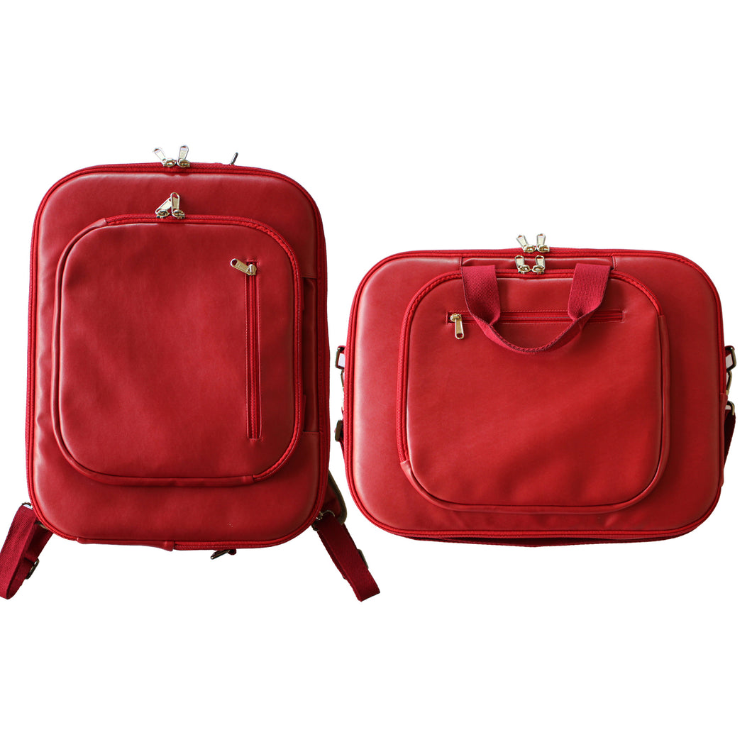 Kurve Laptop Bag - Red
