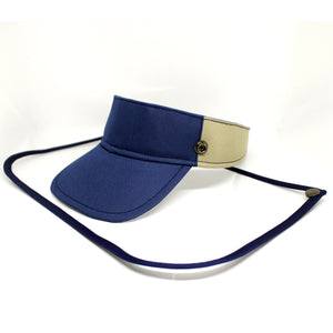 Sunvisor face shield - Blue Combination