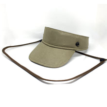 Load image into Gallery viewer, Sunvisor face shield - Khaki