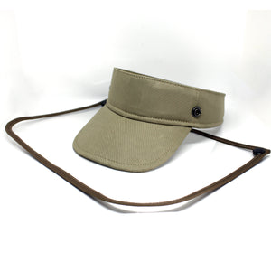 Sunvisor face shield - Khaki