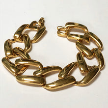 Load image into Gallery viewer, Vintage Napier Gold Plated Chain Link Bracelet