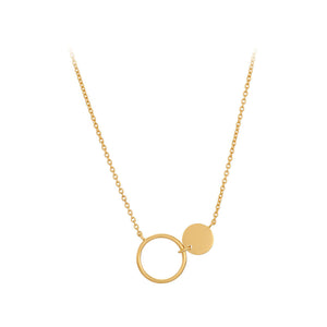 Pernille Corydon Gold Plated Eon Necklace