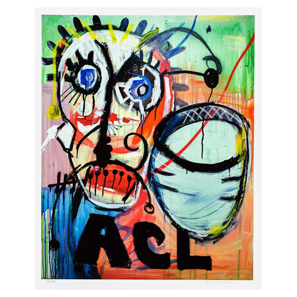Paul Kostabi - ACL - Fine Art - Limited - Giclée - 2012