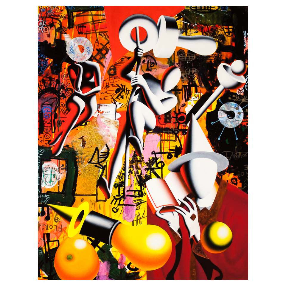 Mark & Paul Kostabi - Psychotropic consiousness - 2013