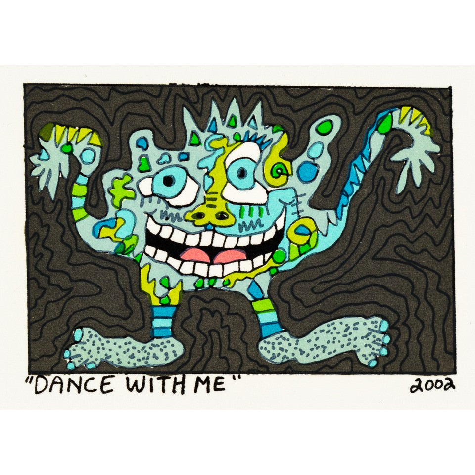 Dance With Me - James Rizzi - Artist - Artwork