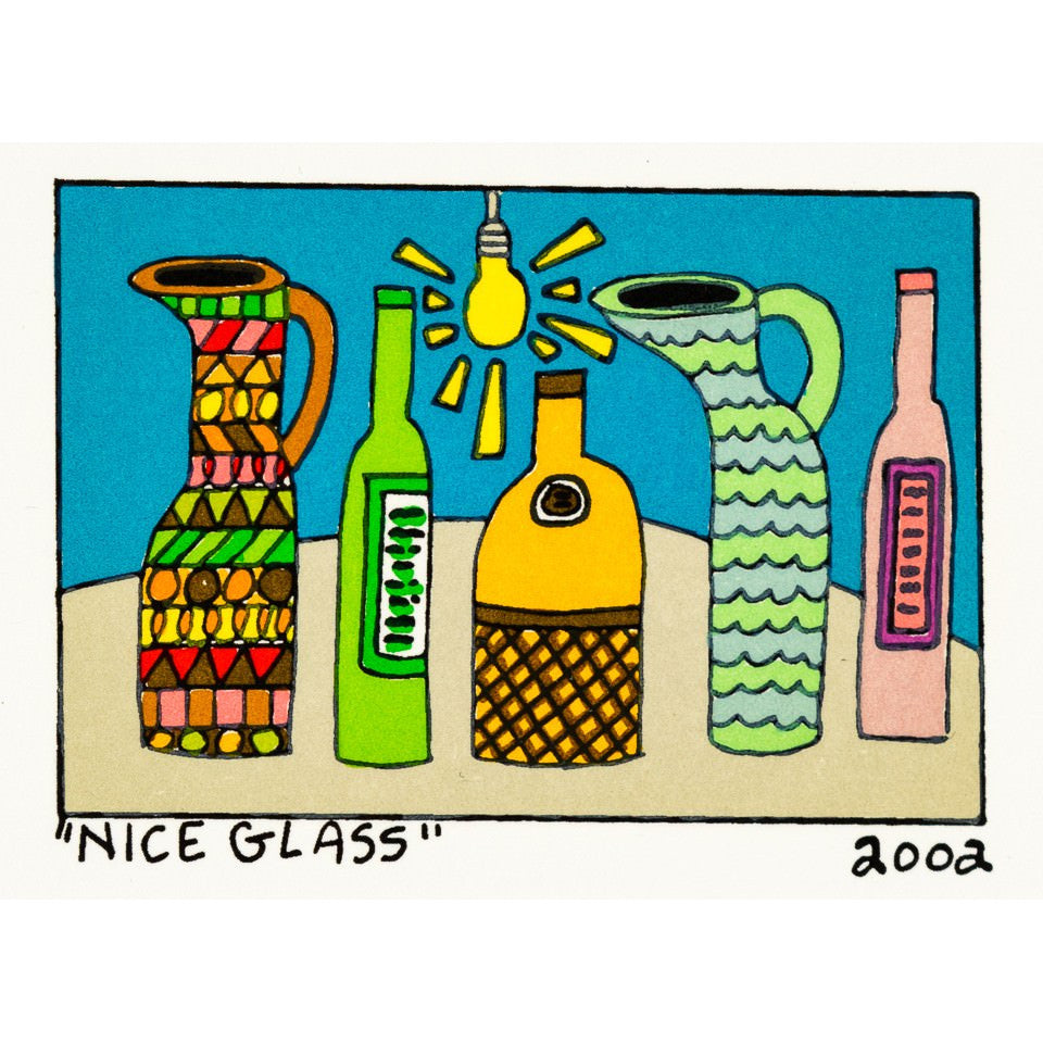 Nice Glass - James Rizzi - Artist - Artwork