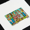 Street Lunch - Rizzi - Lithograph - Art - Print